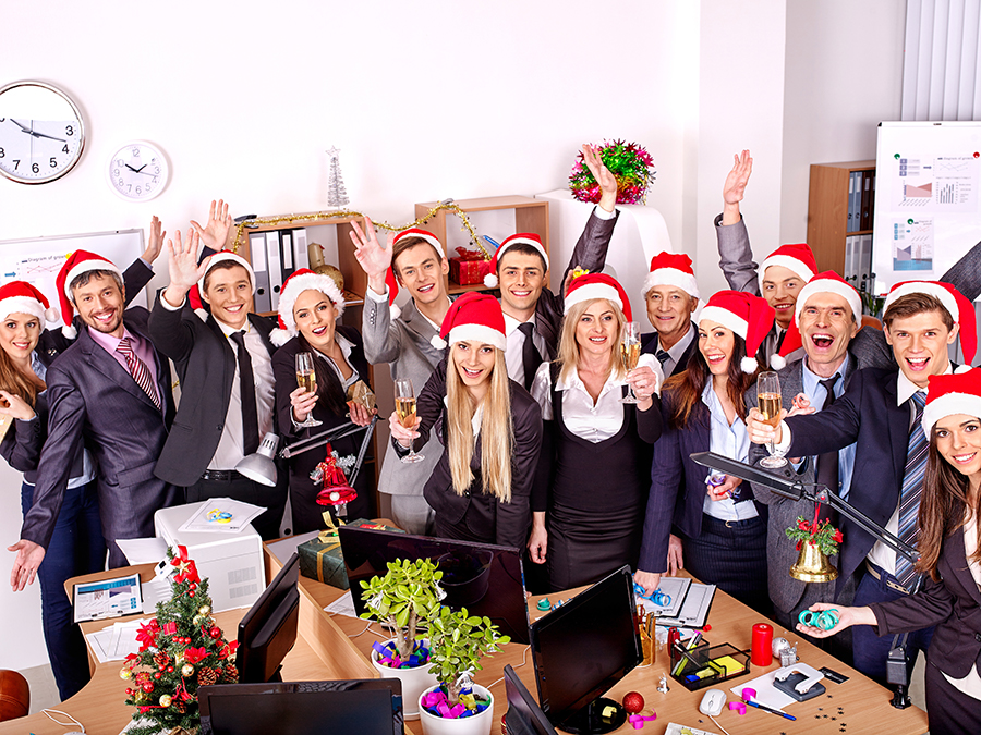 staff christmas party ideas